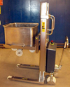 Stainless Stacker for trolley handling